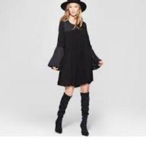Knox Rose Black LBD Boho Dress Size Med